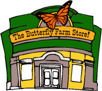 The Butterfly Farm Store!