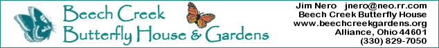 Bronze Sponsor: Beech Creek Butterfly House