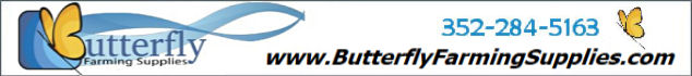 Platinum Sponsor: Butterfly Farming Supplies