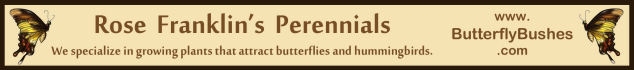 Bronze Sponsor: Rose Franklin's Perennials
